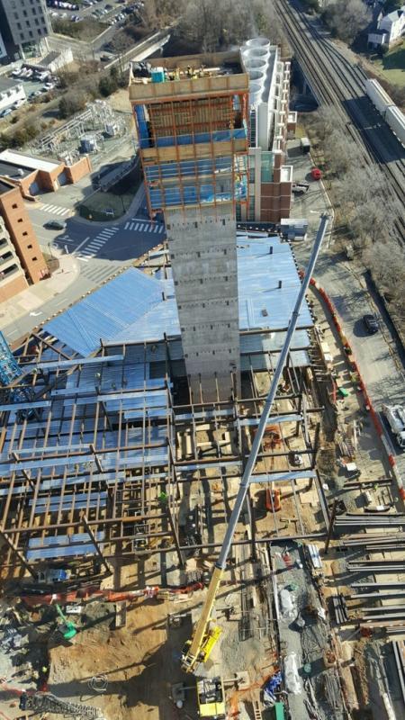 Uva Hospital Expansion Our Work Century Concrete